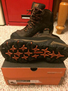 New Merrell waterproof hiking boots