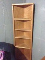 2 Solid Wood Shelving Units - BEST OFFER!