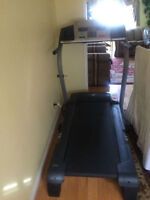 1 YEAR OLD NORDICTRACK FOLDABLE TREADMILL FOR SALE