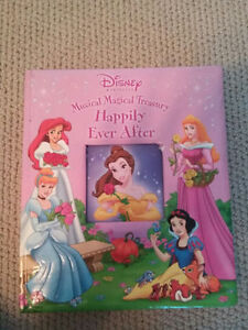 Happily Ever After Musical Princess storybook