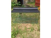 88Ltr Marina fish tank full set up