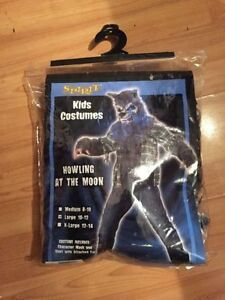 Kids large Werewolf costume