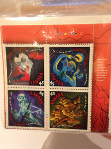 HALLOWEEN COLLECTOR STAMPS