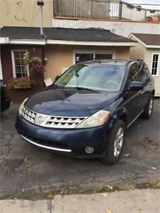 NISSAN MURANO 2007 4X4 AUTOMATIQUE SPECIAL $3995. 514-291-1683