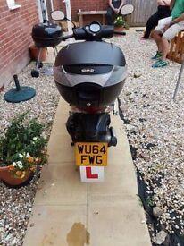 Honda 50cc scooter