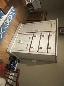 Antique white dresser in great condition.