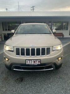 2015 Jeep Grand Cherokee WK MY15 Limited Cashmere 8 Speed Sports Automatic Wagon Mackay Mackay City Preview