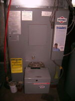 Oil Burning Furnace - Ready to Pickup