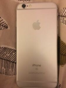 Silver/White iPhone 6S 16GB Bell/Virgin
