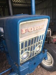 Tractor ford Lawes Lockyer Valley Preview