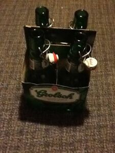 One dozen Grolsche hinge-top bottles for home made beer