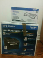 Wireless laser printer all-in-one Brother MFC 7860DW