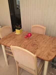 Dining table and chairss