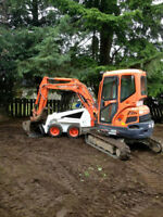Demolition, yard, Home clean-up and excavation services