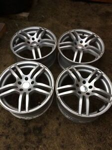 "17"" CORE RACING alloy wheels... set of four"