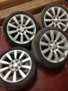 "18"" Mitsubishi rims (5 Bolt) Gts (ralliart)"