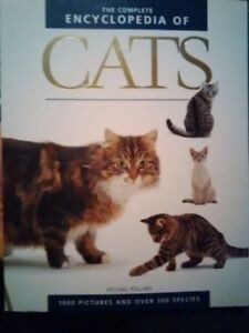 The Complete Encyclopedia of Cats (2005) in New Condition Kitchener / Waterloo Kitchener Area image 1