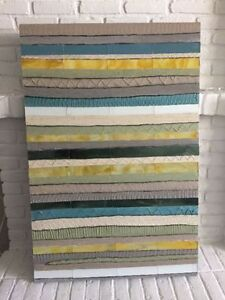 Modern Mosaic Stripes Wall Art from Pier 1 Imports
