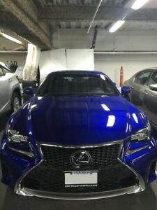 2016 Lexus RC350 Lease Takeover