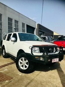 2008 Nissan Pathfinder R51 MY08 TI White 5 Speed Sports Automatic Wagon Moorooka Brisbane South West Preview
