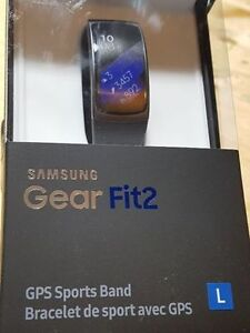 Samsung gearfit2 -Brand new in sealed box $120 w/ 1 yr warranty