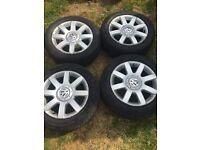 Mk5 golf alloy wheels Volkswagen alloys 5x112 fitment