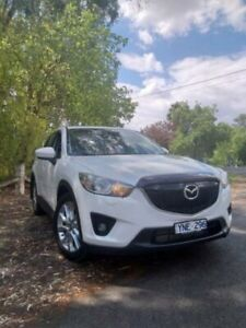 2014 Mazda CX-5 MY13 Upgrade Akera (4x4) Snowflake White 6 Speed Automatic Wagon Wangaratta Wangaratta Area Preview