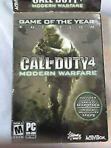 Call of Duty 4 Modern Warfare Game of the Year Edition (PC)