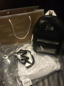 Michael Kors Leather Backpack Purse
