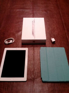 Apple iPad 2 Wi-Fi 3G White 16GB + Blue case need to sell ASAP.