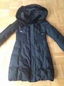 Manteau Tahari Noir Small - Tahari black winter coat