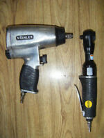 2 Stanley brand air tools for sale