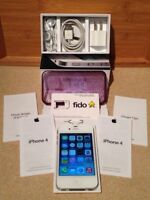 iPhone 4, blanc, 16GB - Fido