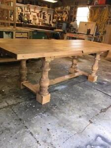 Custom Built Barn Board Tables