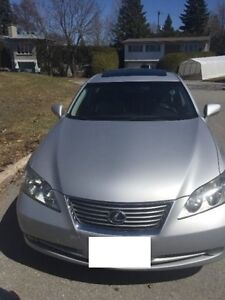 2008 Lexus ES 350 Sedan (E test and Safety included)