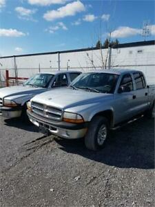 2004 Dodge Dakota Sport 4X4 WITH DENT AS-IS DEAL 4.7 v8