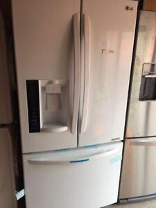Brand new LG white high gloss fridge