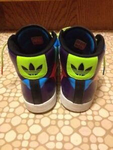 Ladies Size 8 Adidas Hightop Sneakers St. John's Newfoundland image 3