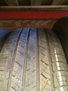 2 USED MICHELIN LATTITUDE TOUR HP TIRES 245/50R20 Edmonton Edmonton Area image 2