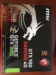 Nvidia Geforce GTX1080 with box