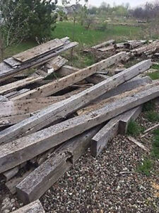 100-150 year old barn beams and boards for sale Gatineau Ottawa / Gatineau Area image 3