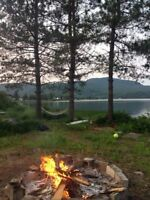 Lake front Cottage Laurentians close to ski 1h20 from Montreal