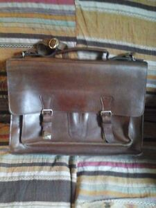 """Briefcase Heavy Leather 1/8"""""""