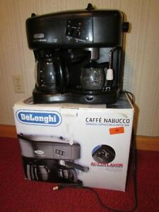 Delonghi Caffe Nabucco dual coffee and espresso machine