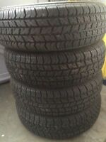 Must Go! 4 P215/70R15 All Season M+S Tires