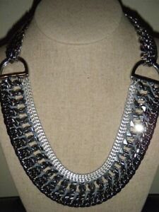 Incredible Edgy Stella&Dot jewellery, Femme Fatale necklace.