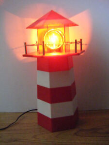 Lighthouse lamp for sale.      Truro