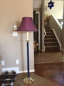 """An Elegant floor lamp in perfect working condition Height 57"""""""