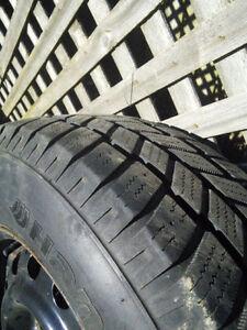 "Winter Tires on Rims 215/70/R15 set of 4, 15"" London Ontario image 2"