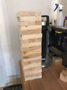 Giant Jenga! Perfect for Camping!